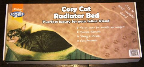 ARMITAGE GOOD GIRL COSY CAT COMFY RADIATOR BED RRP £22.99